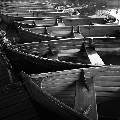 Rowing Boats, Dedham Vale, 2010 (Paul Cooklin)