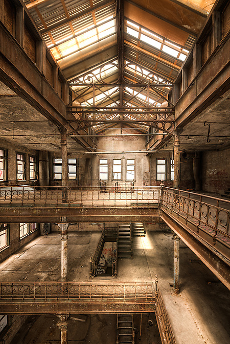 The Tennessee Brewery Memphis Tn The Art Of Abandonment