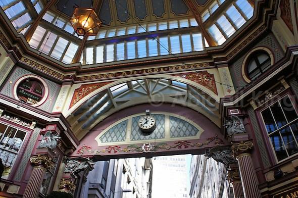 Victorian London: The Leadenhall Market, City of London