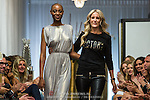 NLD/Amsterdam/20140615 - Opname aflevering Holland Next Top Model 2014, Aisha Kazumba samen met Josh Veldhuizen (Edwin Janssen/foto: Edwin Janssen)
