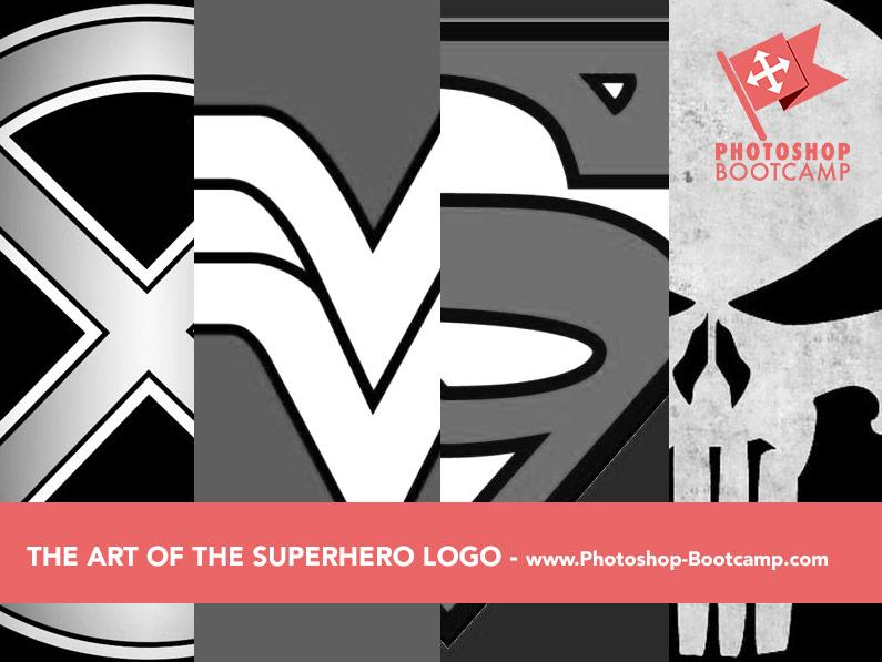 The Art Of The Superhero Logo - Four Clean, Simple, Bold Logos
