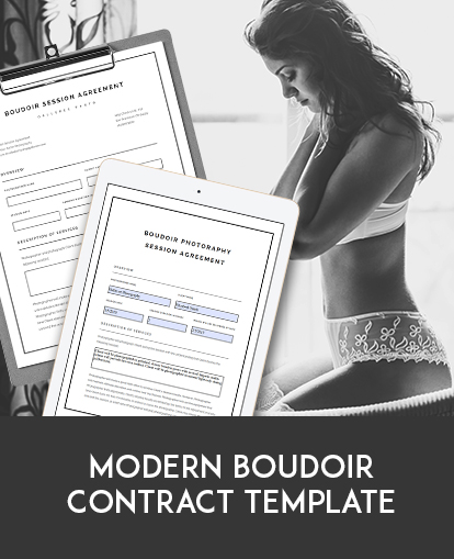 Boudoir Photography Contracts Get Templates To Easily Write Contracts