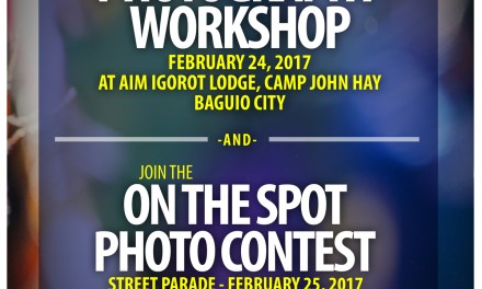 FPPF Holds Free Photography Lectures, Photo Contest for Panagbenga 2017