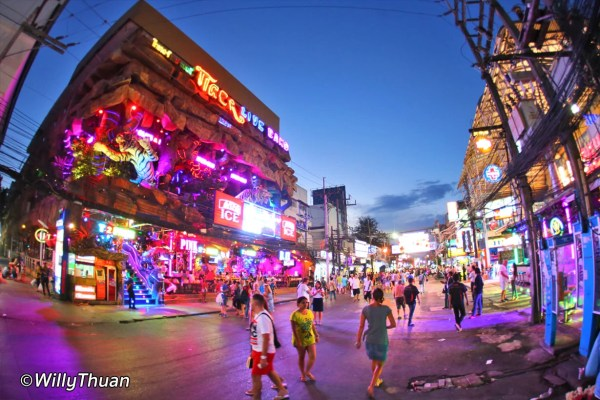 Soi Bangla Road in Patong Beach, Where to Go at Night in Phuket