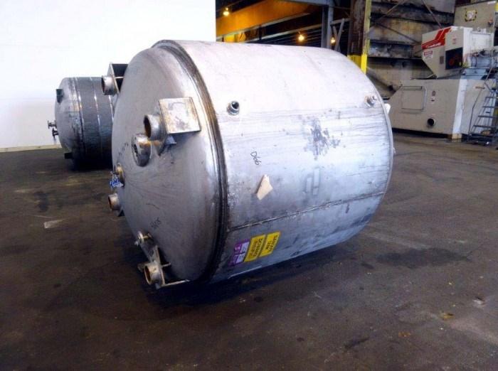900 Gal Santa Fe Tank Stainless Steel Reactor Body 11721