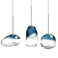 Modern Mini Blown Glass Art LED Pendant Lighting 12103 ...