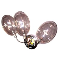 FIAM Glass Bubble Wall Sconce in Chrome Finish 8023 ...