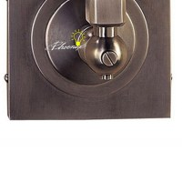Antique Industiral Fabric and Copper Wall Sconce 8767 ...
