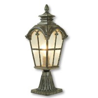 Antique Metal and Water Glass Wall Sconce 9541 : Free Ship ...