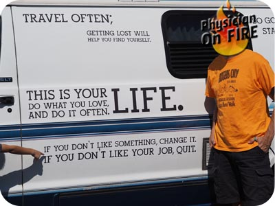 Motivational Van