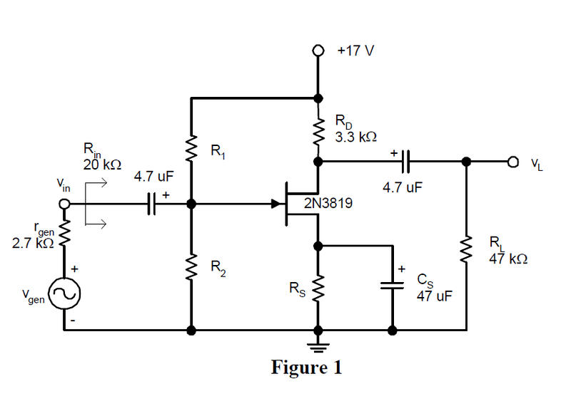 figure 351jfet common source amplifier