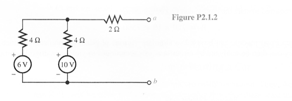 is thevenin equivalent circuit b find thevenin equivalent circuit