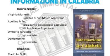 Informazione in Calabria Locandina