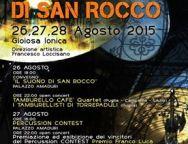 """Gioiosa percussioni Festival -""""I tamburi di San Rocco"""" III edizione"""