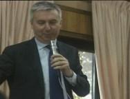 Lorenzo Guerini vice segretario nazionale PD ad un convegno a Taurianova