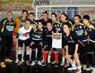 Locri: la squadra di calcio A5 femminile è ritornata a giocare