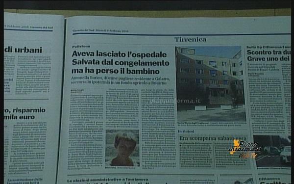 Rassegna Stampa 09 Febbraio 2016
