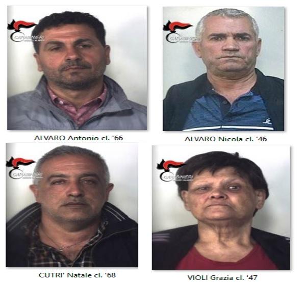 """Sinopoli, """"Operazione Guardiano"""": 4 arresti per associazione di tipo mafioso ed estorsione aggravata"""
