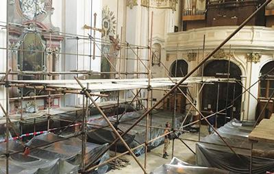 Rekonštrukcia kostola sv. Ladislava v Nitre