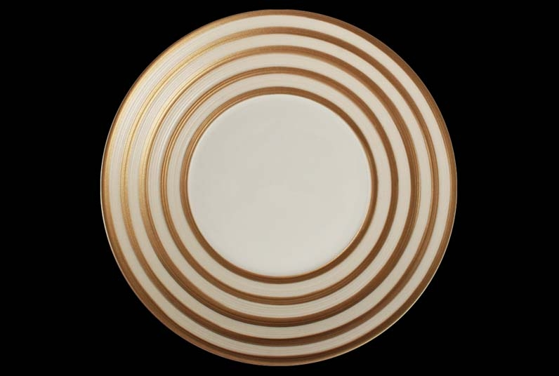 Hemisphere Metallic Colors Coquet Dinnerware Pia Rubio