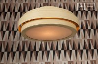 Large Bamboo ceiling light - Elegance and vintage | pib