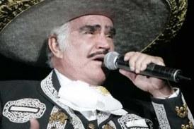 Vicente Fernández anuncio su retiro de los escenarios