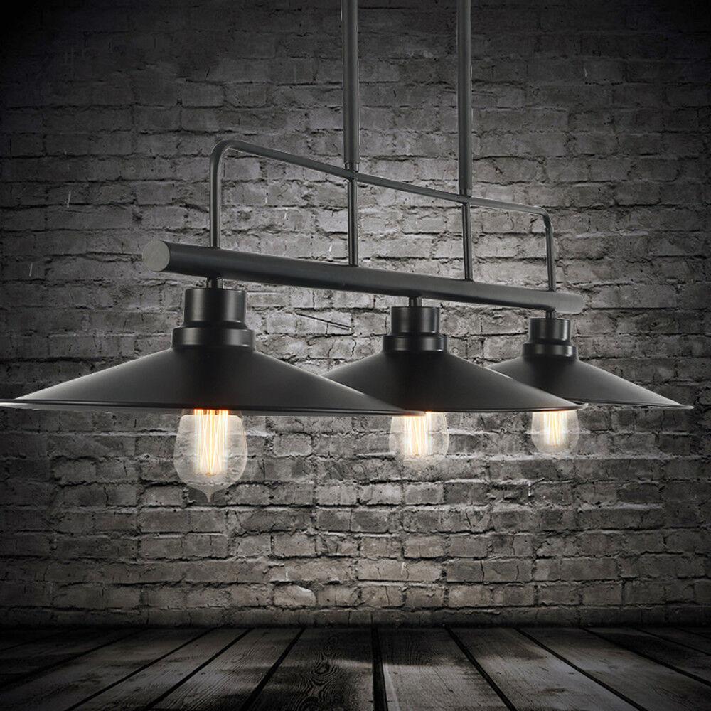 KITCHEN Pendant light Black Chandelier Lighting Bar LED