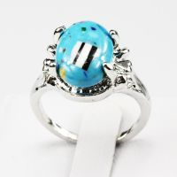 Malachite Gemstone Fashion Jewelry 925 Silver Men Women ...