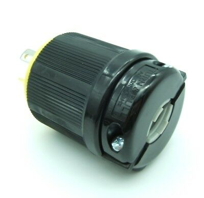 NEMA L14-30P 30A 125/250V Locking Male Receptacle Plug Industrial