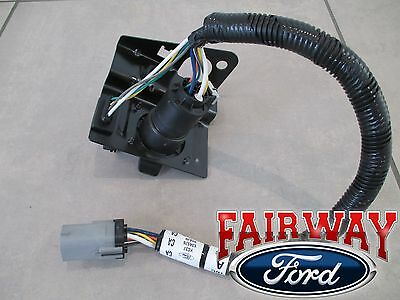 99 THRU 01 F250 F350 Super Duty Ford 4  7 Pin Trailer Tow Wiring