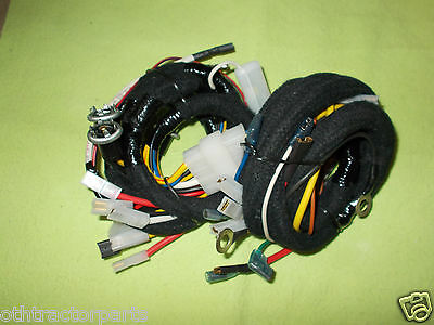 FORD TRACTOR 2000 3000 3400 4000 4500 5000 Wiring Wire Harness