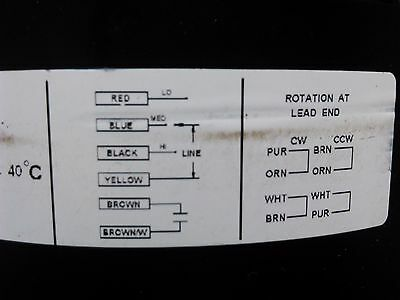 AO SMITH D1026 208-230V 1/4HP 1075RPM 3SPD 1PH 60Hz DIRECT DRIVE