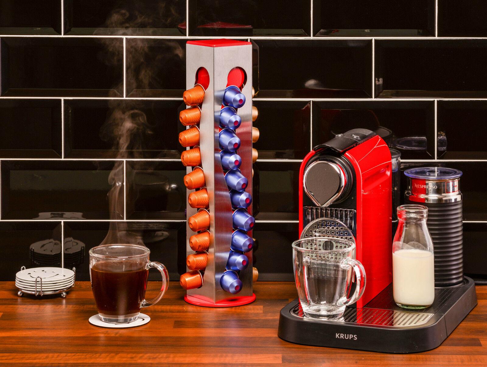 Nespresso Pod Holder Coffee Pod Holder Rotating Capsule