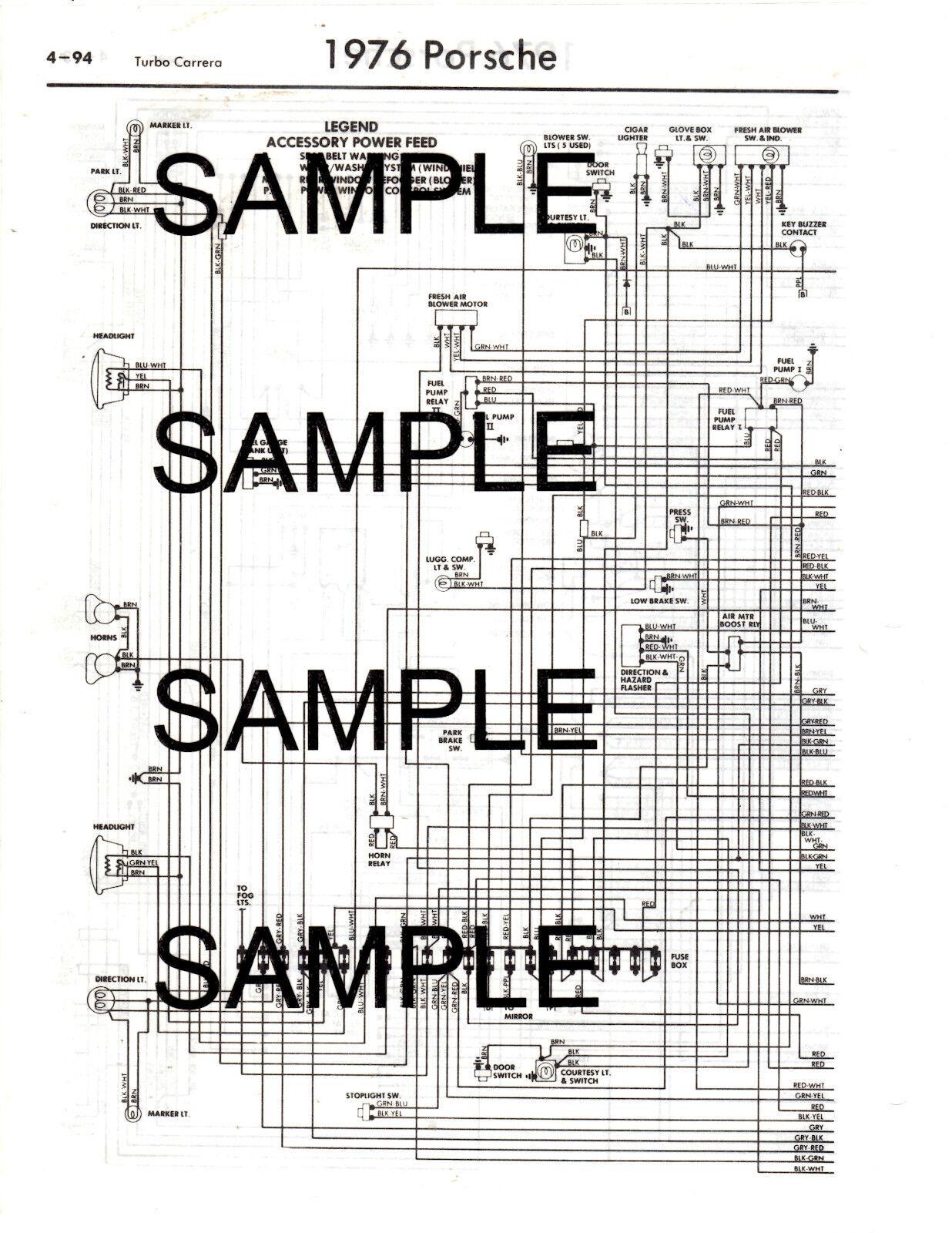 1976 porsche 912e engine diagram