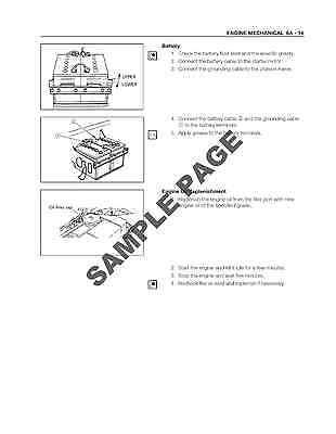 ISUZU F SERIES Fss Fts Ftr Truck Workshop Service Repair Manual