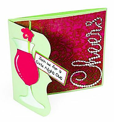 SIZZIX BIGZ XL Ornate Tri-Fold Card die #656534 Retail $3999