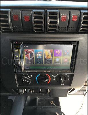 NEW 2003-2006 JEEP Wrangler TJ Double Din Radio Install Dash Kit