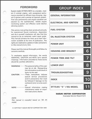 Suzuki Dt85 Outboard Wiring Diagram - Somurich