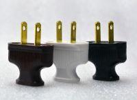 BROWN - 5-Pack - Vintage Antique Style Electrical Plug ...