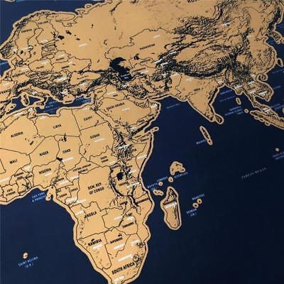 MAPPAMONDO CARTINA MAPPA Mondo Grattare Itinerari Posti Visitati