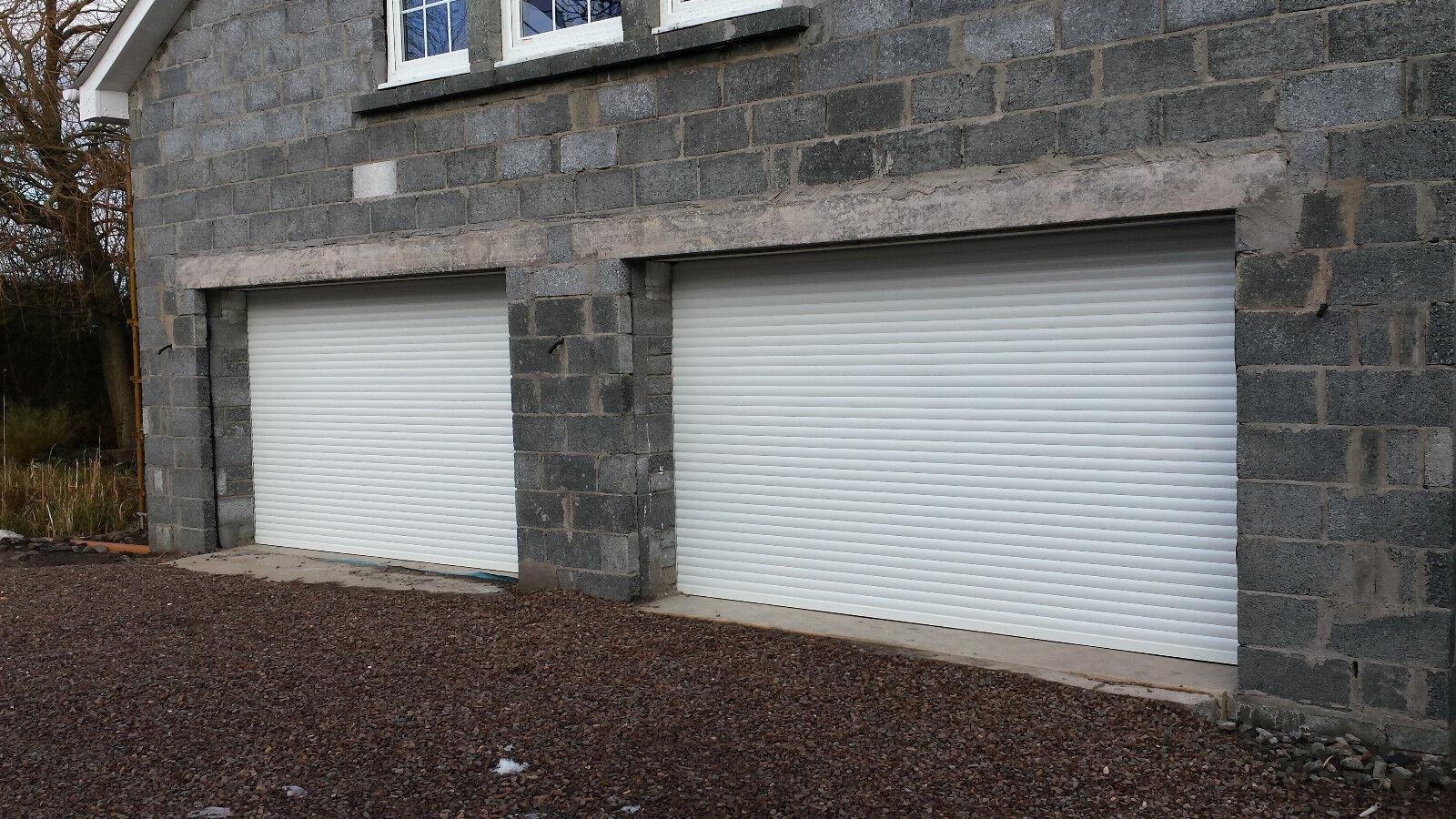 ELECTRIC INSULATED Roller Garage Door