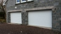ELECTRIC INSULATED Roller Garage Door- Made to Measure ...