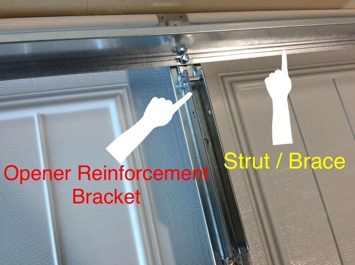 Superior 2 X 9 Ft Steel Horizontal Garage Door Support Strut Wageuzi