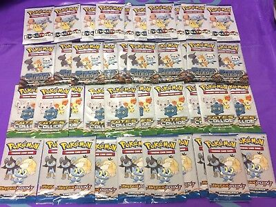 POKEMON SAMPLE PACKS MIXED Pokémon Trading Card Game X 40 PACKS