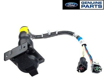 OEM NEW 7 Pin Trailer Towing Connector Wiring Harness F-Series F6TZ