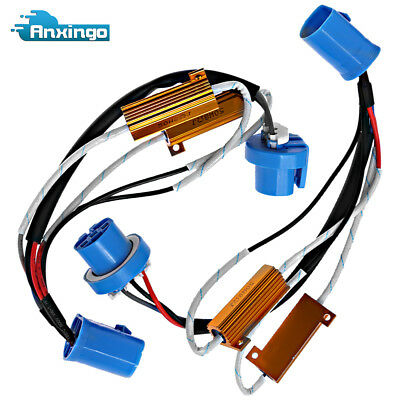 LED HID HEADLIGHT Load Resistor Wiring Harness Adapter for Chevrolet