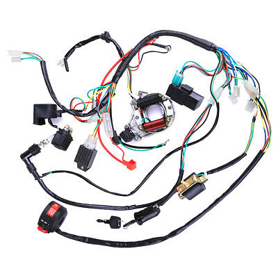 COMPLETE ELECTRICS WIRING Harness Ignition CDI STATOR 50 70 90 110