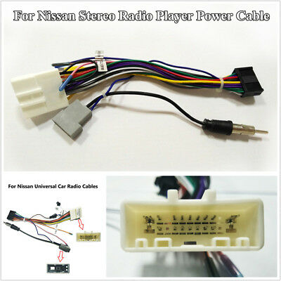 20 PIN WIRING Harness Adapter 1 or 2 DIN Android Stereo Power Cable
