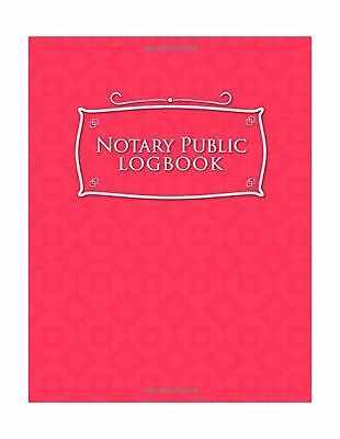 NOTARY PUBLIC RECORD Book Journal Log Ledger Register 60 Pages 522