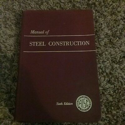 STEEL CONSTRUCTION MANUAL, 14th Ed by Aisc and American Institute of